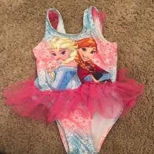 Other - One piece frozen bathing suit